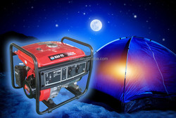 HT2700 red color brush Gasoline Generator 2KW manual starter