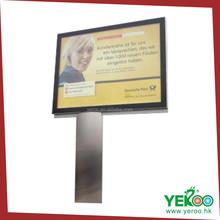 Aluminum Profile Building Advertising New Scrolling Billboard Design