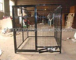galvanizli güzel büyük hayvan Kulübeler pet kafes köpek