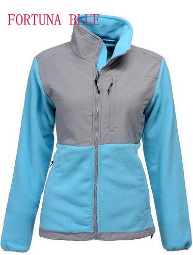 мода женщин denali флис вниз куртка белого на улице пальто бренда Розовая лента зимой теплый ветрозащитный спортивной