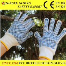 Working Glove/High-class PVC dotted gloves/work glove China PVC Dotted Cotton Work Glove EN388