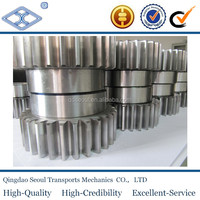 SSA1-25 M1 alloy JIS standard 25T drawing pump custom high precision standard driven steel large diameter conveyor wheel gear