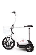 three wheel electric scooter front big wheel, ES-064