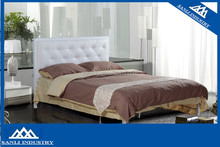 low price soft pu bed leather bed double bed