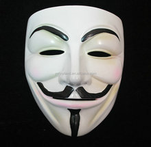 V for Vendetta Movie Party masquerade High quality face Resin mask