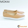 MK082-2 New fashion simple style women flat shoes genuine leather shoes pointed toe