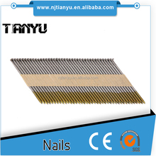 Factory! 30 degree paper collated framing nails for Paslode framing nailer, hot dipped galvanized paper strip nails