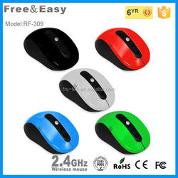 High cpi resolution wireless gaming mouse with factory price