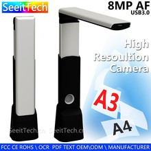 manufacture oem document flatbed a4 a3 portable business card scanner