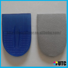 Heel Liner Height Lifting PU Gel Insoles, Silicone GEL Shoe Pads ,Forefoot silicone gel pad for shoe
