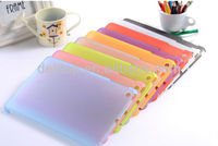 Ultra-thin transparent matte frosted back cover case for ipad ipad mini