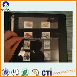 Clear Plastic coin/stamp/corrency soft/hard PVC/PET packaging envelope/ pocket/bag