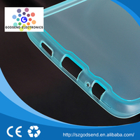 Super Thin high quality phone cases transparent tpu case for samsung note 5 edge case