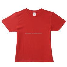 Fancy quality printing summer short sleeve children tee shirts