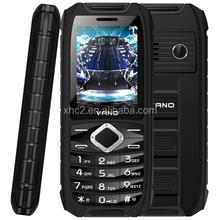 cheap 2.4 Inch TFT Screen Waterproof / Dustproof / Shockproof Elders Mobile Phone