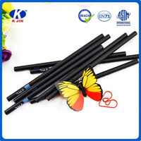 2 color printing black wood pencil /wooden pencil making machine