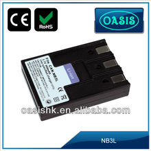 Hot sale digital video camera battery for CANON NB3L