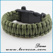 Wholesale Products Paracord Bracelet,top quality paracord,Plastic charm climb paracord bracelets