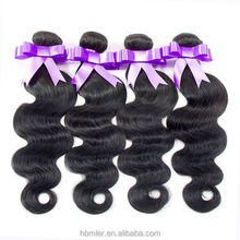 2015 the new hair product large in stock no shedding brazilian hair ocean wave hair weft