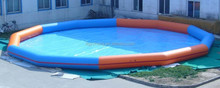 giant commecial inflatable swimming pool water fun city
