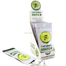 2015 New! Natural color! Cucumber flavor candy
