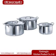 TB-2518 kitchen pot and pan sets pot with lids wholesale hot pot