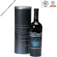 Luxury fancy basis with cover design wine box