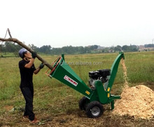 Professional manufacturer CE EPA certificates approved commercial agriculture Honda log shredder chipper