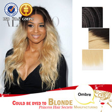 High quality Hair Factory Price straight colour #1b 33 ombre human hair indian