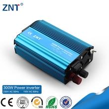 50hz to 60hz convert,300watt 12v/24v 110v/230v aluminum case dc-ac ce rohs car power inverter