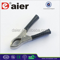 Manufacture high quality 9 volt copper batttery test clips