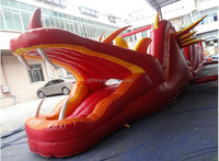 jumping air castle obstacle inflatable playground