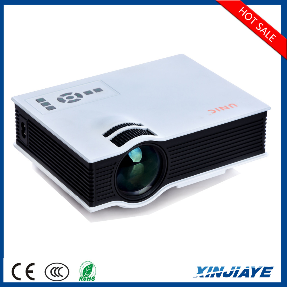 newest factory price lcd uc40 led mini 1080p projector led