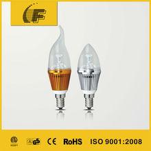 E14 base high quality egg candle light