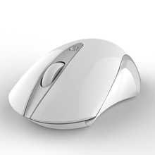 2015 new unique mute click and invisible light 2.4g wireless mouse