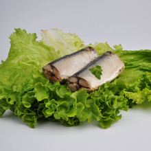 Chinese canned mackerel fish from Pacific