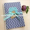 Customized loose leaf leather journal dairy notebook wholesale,hardcover notebook