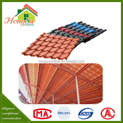 Good price long term color stability ASA resin roofing materials spanish style roof tiles