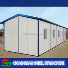 Folding fireproof eps panel prefab home for low income family