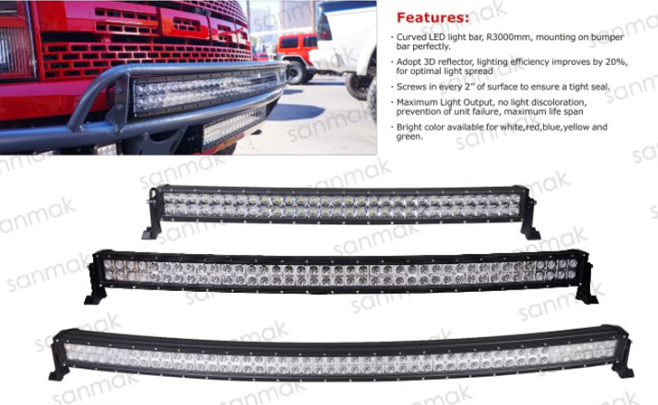 China wholesale auto accessories sanmak 42 double row cree radius 6029sg aloadofball Image collections