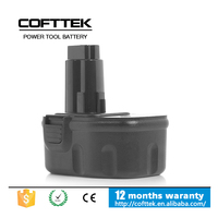 14.4v 1500mah nicd dewalt DW9094 battery for cordless power tools DC551KA, DC612KA, DC613KA, DC614KA, DC615KA, DE9094, DE9502