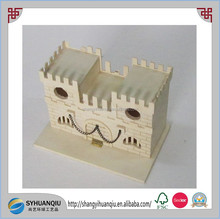 Medieval Play Castle Made of Unfinished Wood, Stain or Paint to Suit Your Needs