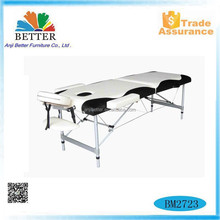 Better 2015 mix color Modern aluminium portable massage table,treatment bed