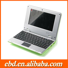 "New products on china 7"" laptop Android 4.1 VIA8850 is hotting"