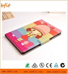 2015 leather flip cover and case for apple mini ipad