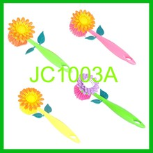 colorful flower shape hand brush