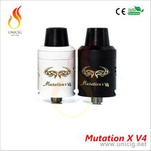 UNICIG smoking pen vaporizer Mutation X V4 rda wax vaporizer pen
