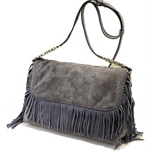 Latest Fashionable Woman Lady Nubuck leather Tote Bag Handbag shoulder bags