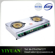 DY YYA-06 Hot for Sale 3 Gas Burner Spare Parts for Gas Stove , Stainless steel Gas Cooker for Cooking