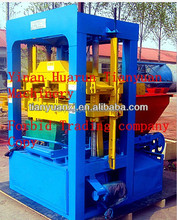 small and easy operating bake free blocks QTJ4-26C small hollow block machine/brick block machine easy operation